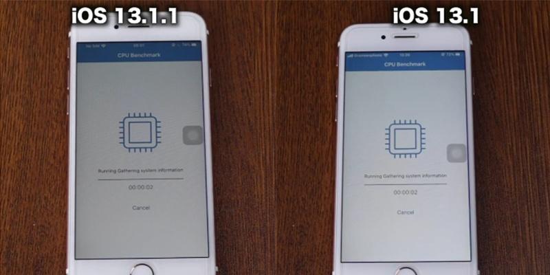 ใครไวกว่ากัน!! รีวิวจากต่างประเทศ ประชันความเร็ว iOS 13.1.1 vs iOS 13.1