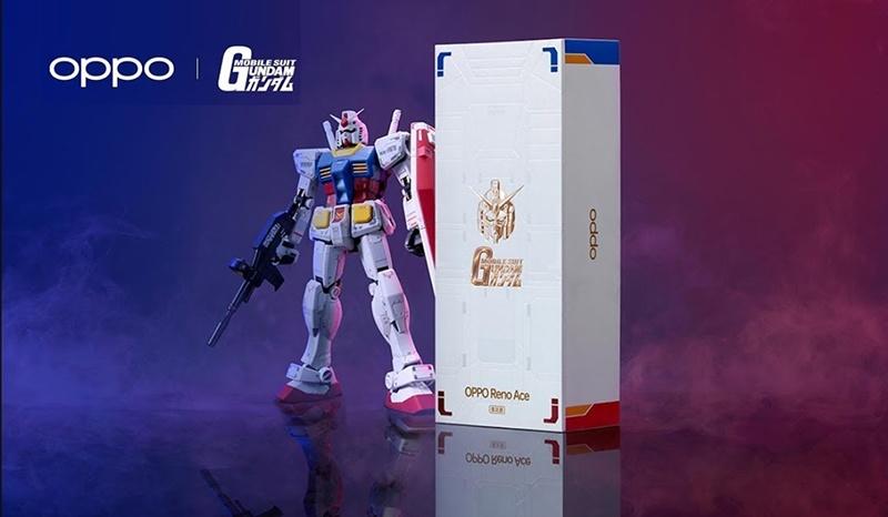 Oppo เปิดตัวสมาร์ทโฟนเรือธงใหม่ Reno Ace พร้อมทั้งรุ่นพิเศษ Gundam Edition จอ 90 Hz