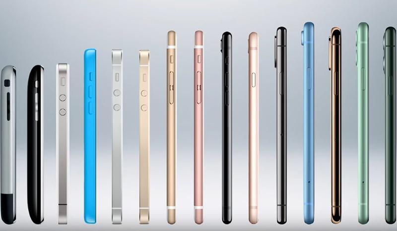 เรียงไทม์ไลน์ iPhone สมาร์ทโฟนนิยม ตั้งแต่รุ่นแรกจนถึงปัจจุบัน (มีคลิป)