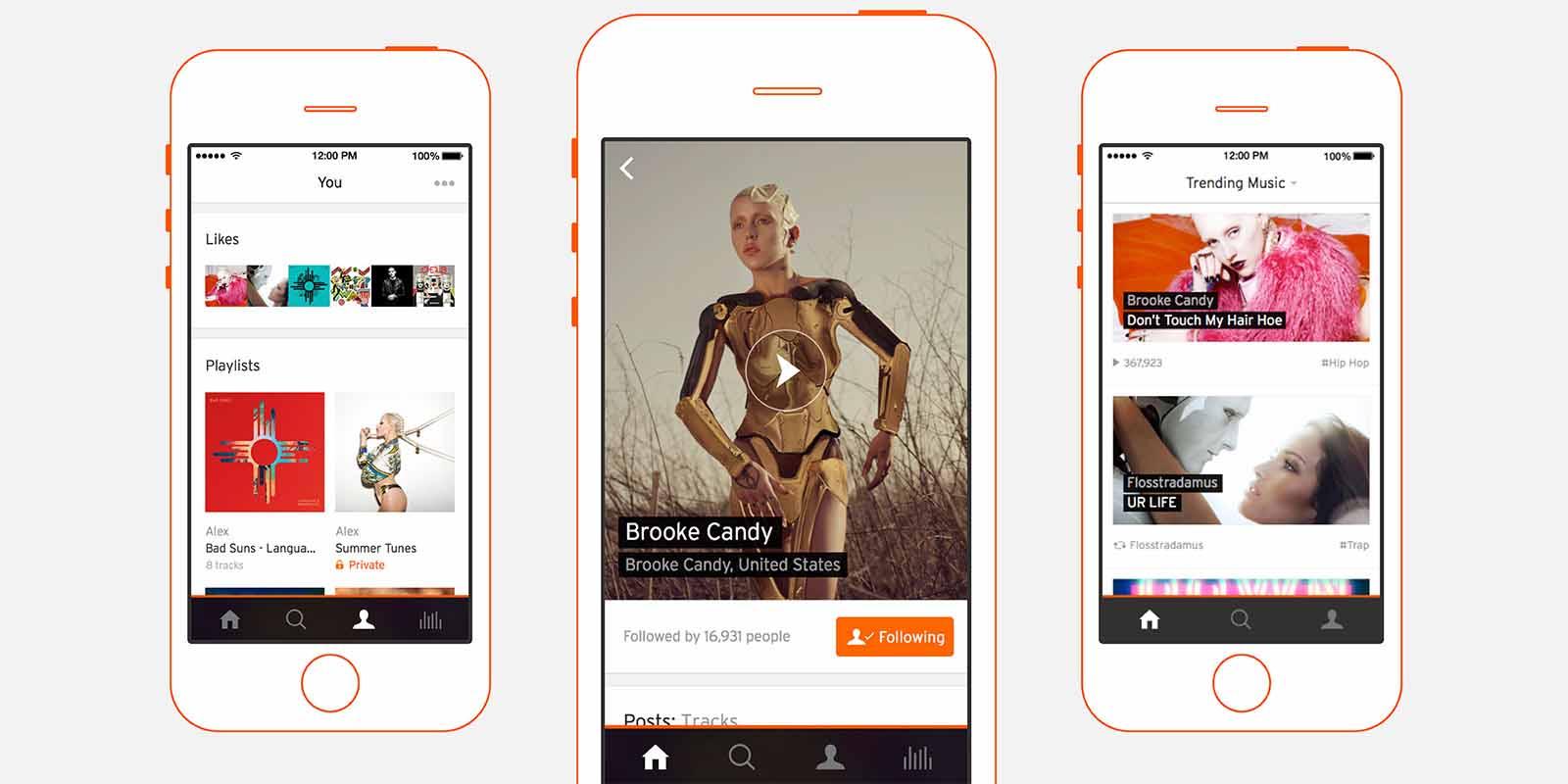 SoundCloud-iPhone-application